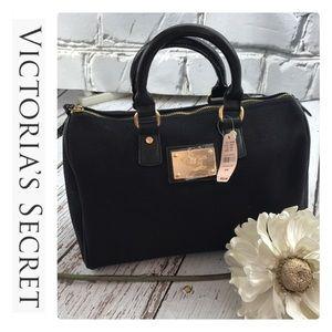 💕SALE💕NWT Victoria Secret Black Makeup Tote Bag